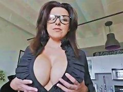Stepson Blew A Monster Load In Her Stepmoms Mouth