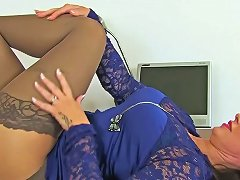 British MILF Danielle Wears Her Sexy Lingerie For A Reason 124 Redtube Free Milf Porn