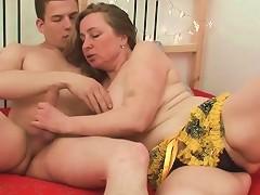 Fat Mom Is A Limber Cock Riding Slut