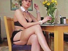Naughty Secretary Stockings And Toys Upornia Com