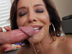 Milf Francesca Le Uses Her Throating Skills To Make His Cock Disappear