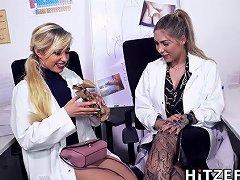 Dr Mia Blow Masturbates In The Office