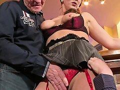 German Big Tit Milf Seduce Fuck Anal In Big Dick Threesome Drtuber