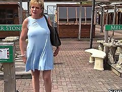 Cheating British MILF Lady Sonia Unveils Her Enormous Titties