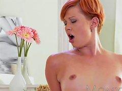 Mom Redhead Milf Gets A Good Fucking Before Creampie