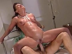 Muscle MILF Gets Fuck Treatment