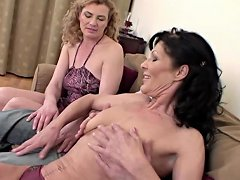 Thresome With Two Bisex Mature