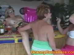 3 Old Women Get Filthy In Public At Bar