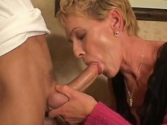 Mature Hottie Scores With A Stud
