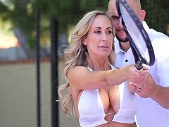 Fit And Sexy MILF Brandi Love Fucked After A Tennis Lesson