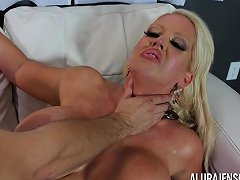 Big Tit Cougar Alura Jenson Loves Fucking Younger Men Drtuber