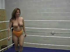 Topless Mature N Milf Wrestling 2 Matches